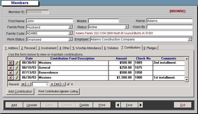 free church accounting software easily manage donations funds and